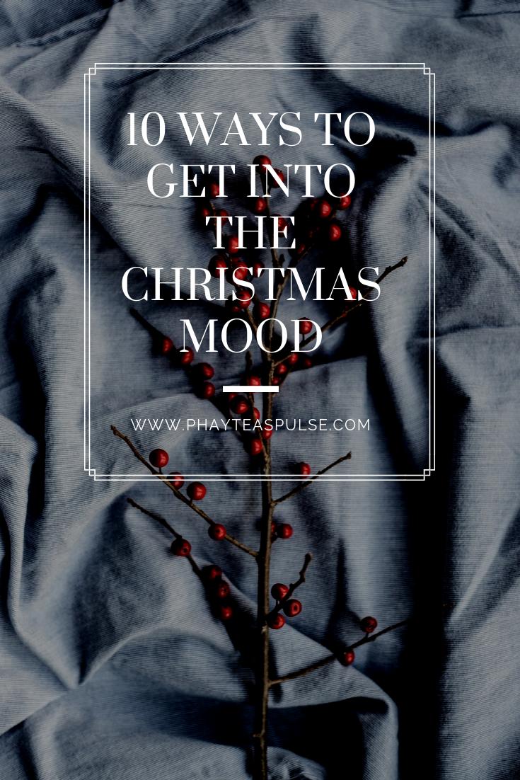 Get into the Christmas mood